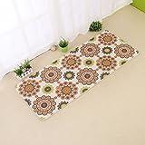 Interior carpet Home And Kitchen Carpet Modern Carpet Non-slip Kitchen Mats blanket ( Color : A , Size : 50180cm )