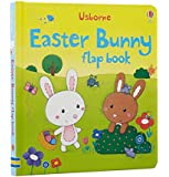 Easter Bunny Flap Book (Usborne First Sticker Books)