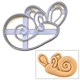 Anatomical Human Inner Ear Cochlea cookie cutter, 1 pc, Ideal for Medical Health Care themed party