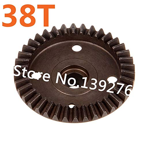 (Part & Accessories 60098 Differential Gear 38T Teeth Spare Parts For 1/8 Truck Buggy Nitro RC CarCamper Pro Battle Savagery LACEREA Camelry)