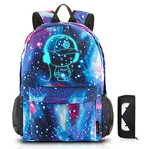 School Backpack SKL Anime Cartoon Luminous Backpack