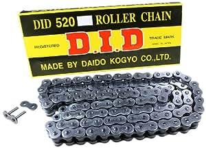 D.I.D 1265114D - Cadena estándar con cierre de clip (520, 114)
