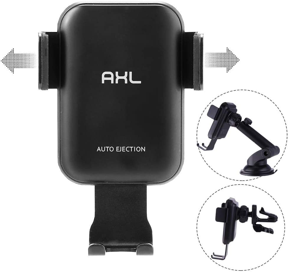 Auto Clamping Car Mount Air Vent Phone Holder Compatible iPhone 11//11 Pro//11 Pro Max//Xs MAX//XS//XR//X//8//8+,Samsung S10//S10+//S9//S9+//S8//S8+ Wireless Car Charger