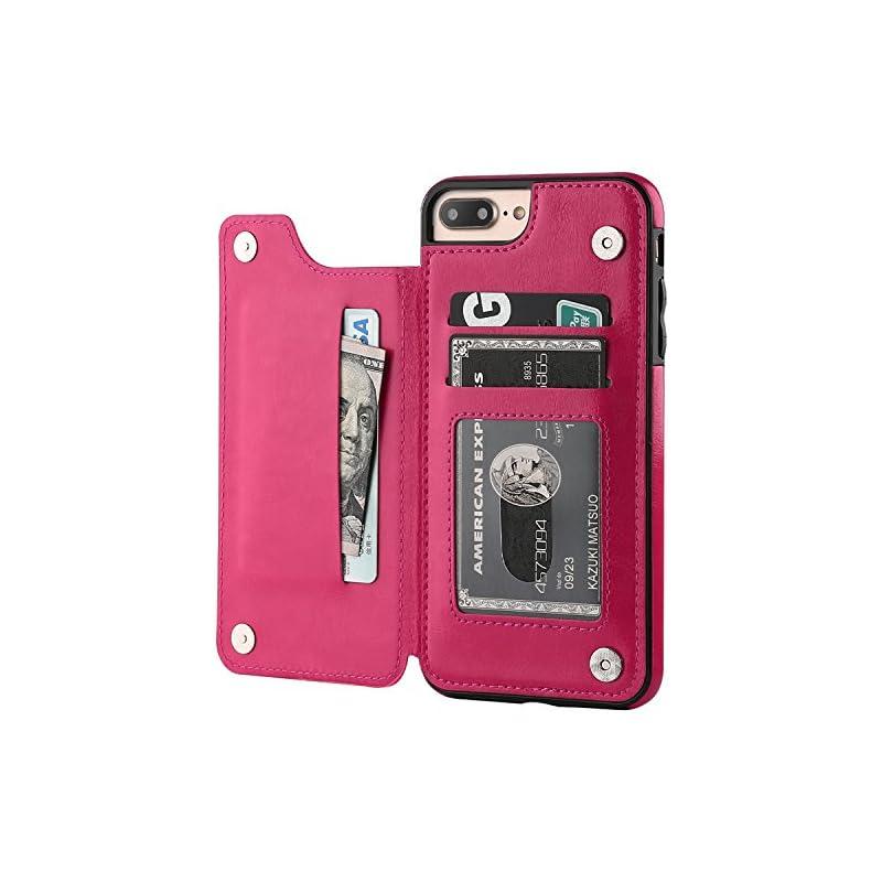 iPhone 7 Plus iPhone 8 Plus Wallet Case