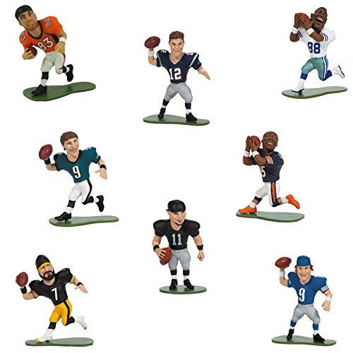 McFarlane Toys Action Figure - NFL smALL PROS Series 3 - Set of 8 Regular Figures