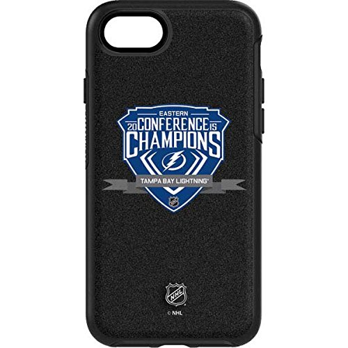 NHL Tampa Bay Lightning OtterBox Symmetry iPhone 7 Skin - Eastern Conference Champs 2015 Tampa Bay Lightning Vinyl Decal Skin For Your OtterBox Symmetry iPhone 7 by Skinit