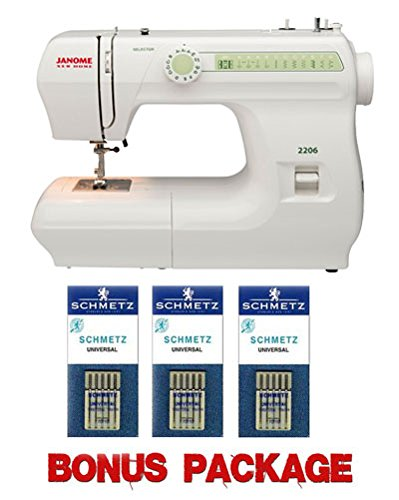 Janome 2206 Sewing Machine with Exclusive Bonus Bundle