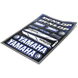 Yamaha Feuille d'autocollants/stickers Yamaha Aerox BW's Slider Neo's DT MX XS XT SR XJ XJR FJ FZ XV Virago Tiger Dunlop #37