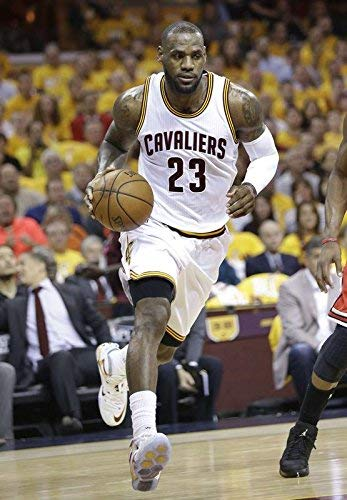0b0492ddbeaf Image Unavailable. Image not available for. Color  ultimate poster LeBron  James Basketball Player Sportsman 12 x 18 Inch ...