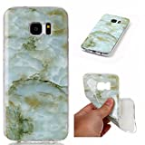 FuBaoBao Marble Design for Huawei P10 Lite Case, TPU Material with ultra-thin all-round protection-Light Green