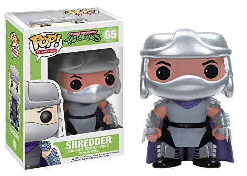 Funko POP Television TMNT Shredder Vinyl Figure]()