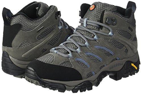 Gore md Mid gris Multicolore tex De Merrell Pour Chaussures Pervenche Femmes Moab Randonne Taille Haute 8wxqS0