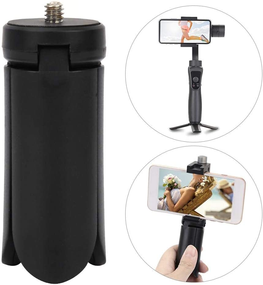 Mini Flexible Tripod,Portable Travel Foldable Desktop Tripod with 1//4 in Screw for Most Mirrorless Cameras and Smartphones