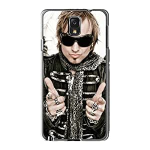 LauraAdamicska Samsung Galaxy Note3 Shock Absorbent Hard Cell-phone Case Customized High-definition Edguy Band Skin [ZpH18469ZRkP]