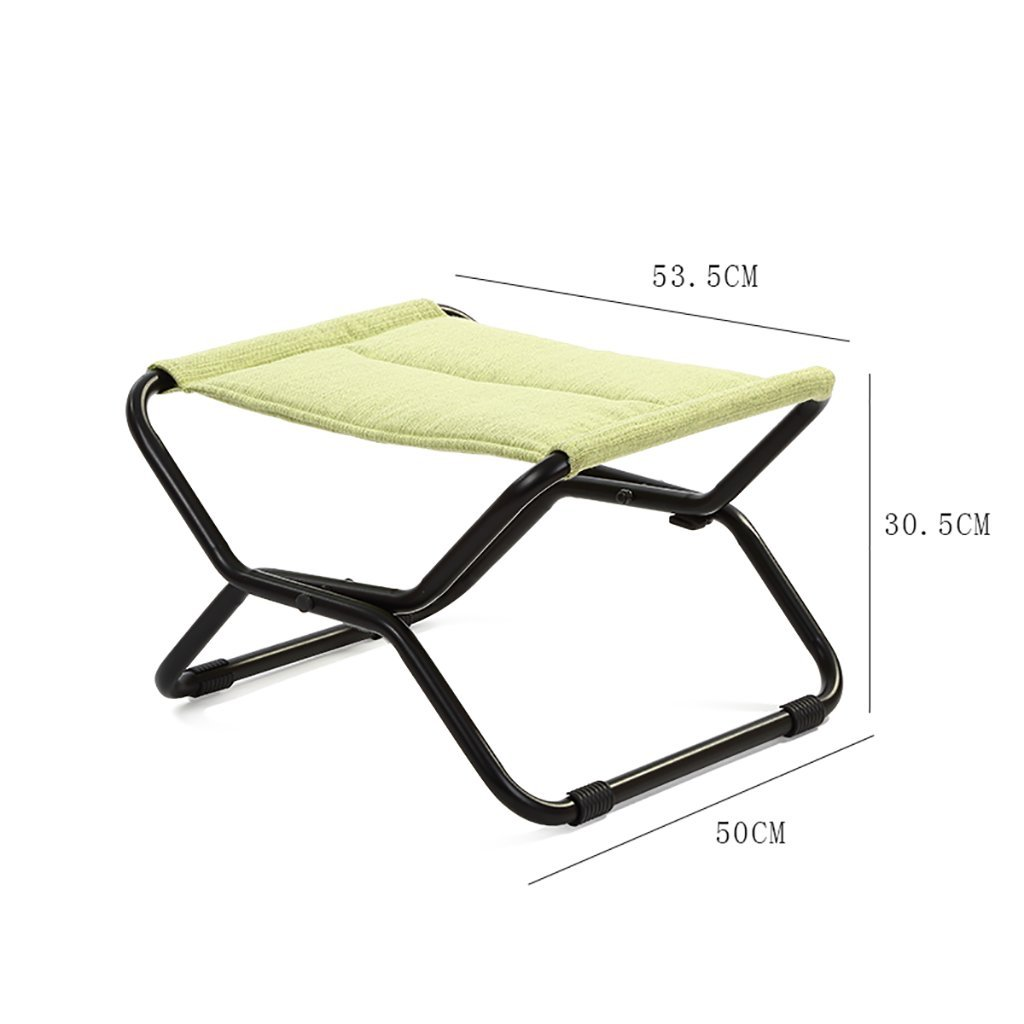 Luggage Rack ,Hotel Room Foldable Iron art Suitcase Holder, Luggage Rack Shelving Suitcase Backpack (Color : Green)