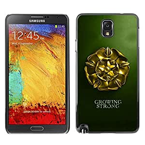 GagaDesign Phone Accessories: Hard Case Cover for Samsung Galaxy Note 3 - Growing Strong