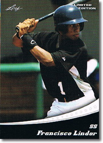2011 Leaf Limited Edition Prospects Baseball Card #17 Francisco Lindor - Cleveland Indians (Rookie / Prospect)(Baseball Trading Cards) - Fleer Limited Edition Baseball Card