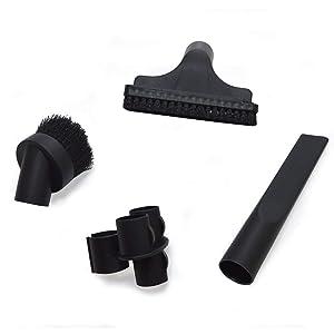 EZ SPARES 4PCS Universal Replacement 32mm Vacuum Cleaner Accessories PP Hair Brush Kit For Hoover, Eureka, Royal, Dirt Devil,Kirby, Rainbow Kenmore,Electrolux, Panasonic, Shop Vac