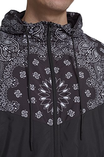 Mehrfarbig Pattern Cappotto Urban black Uomo Classic Bandana Arrow Windrunner 01336 YZ6ZaxSwq