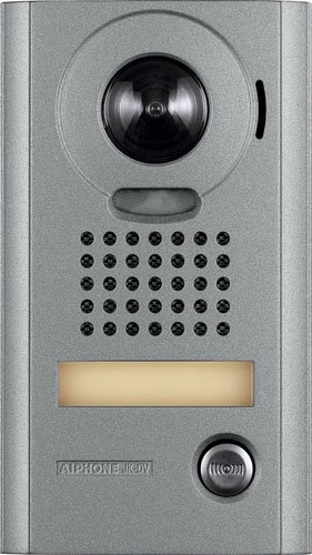 Aiphone Corporation JK-DV  Video Door Station for JK and JM Series Hands-Free Video Intercom, Zinc Die Cast, 6-13/16
