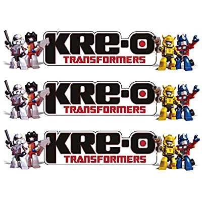 Kre-O Transformers Age of Extinction (AOE) Collection 1 Micro Changers Kreon Blind Bags (Pack of 3): Toys & Games