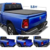 Tyger Auto 5.7 (Soft Top) T3 Tri-Fold Truck Tonneau Cover TG-BC3D1015 Works with 2009-2019 Dodge 1500 (2019 Classic ONLY)   Without Ram Box   Fleetside 5.8' Bed