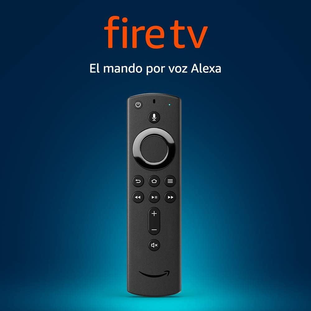 Mando por voz Alexa para el Fire TV, con controles de encendido y ...