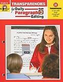 Daily Paragraph Editing Transparencies, Grade 6
