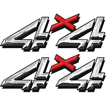Amazoncom Chevy Silverado X Decals Stickers F - Chevy silverado stickers