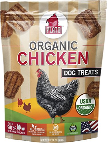 Plato Organic Chicken Strips 16oz (Pack of 3)