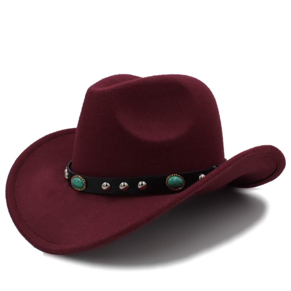 SSLA 2018 Cowboy Hut Jazz Hut Ankunft Mode CowboyHat f/ür Damen Party Kost/üme Cowgirl Roll Up Hut