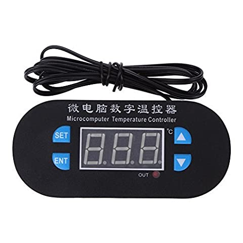 Greensun(TM) 12V Digital Temperature Controller 0.1? Accuracy (Red And Blue Display) (Animal Temperature Controller)