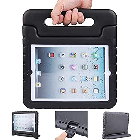 iPad air 2 case, ipad 6 case, ANTS TECH Light Weight [ Shockproof ] Cases Cover with Handle Stand for Kids Children for iPad air 2 (6) (iPad Air 2 (6), (Iphone 5s Speck Candy Case)