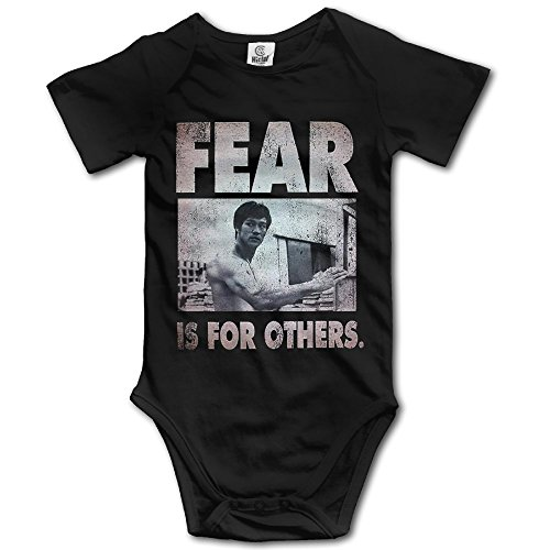 Bruce Lee - Fear Is For Others Baby Onesie Toddler Clothes Outofits (Bruce Lee Outfits)