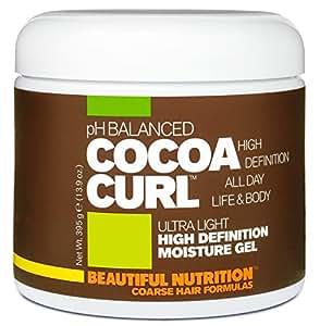 Beautiful Nutrition Cocoa Curl High Definition Moisture Gel, 14.1 Ounce