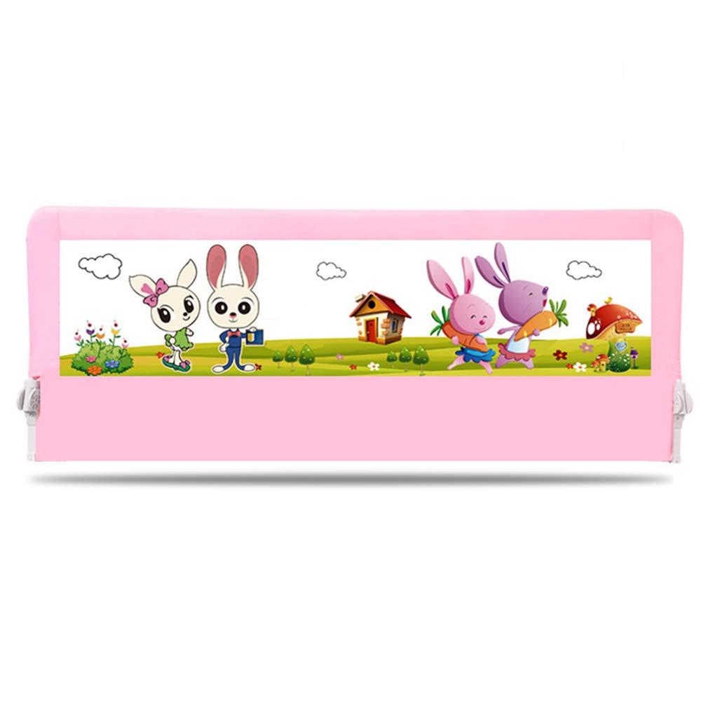 超大特価 安全ベッドガードレール B07JKCWQFC、ベッド高揚バッフル子供幼児ガードレール折り畳みベッドサイドフェンス赤ちゃんアンチ秋ベッドサイドバッフル Pink 120 120*70cm*70cm Pink B07JKCWQFC, とうりんパレット:f520c3ba --- a0267596.xsph.ru