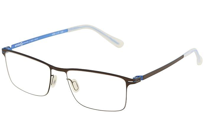 Amazon.com: Etnia Barcelona Men\'s Eyeglasses Kiel BLGY Black/Grey ...