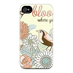 Cases Covers For Iphone 6plus Strong Protect Cases - Bloom Where You're Planted Design