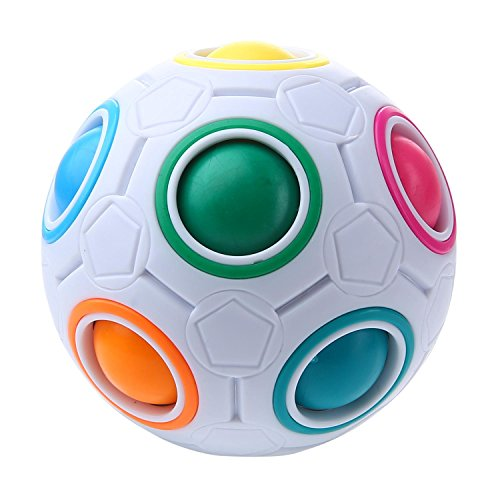 niceEshop(TM) Fidget Twist Ball Relieves Stress And Anxiety for Children and Adults Anxiety Attention Toy