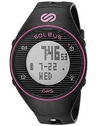 Soleus Women's SG011-011 GPS One Digital Display Quartz Black Watch