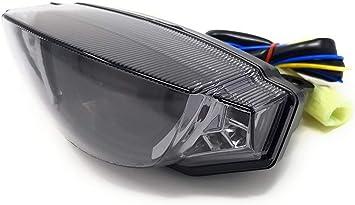 800 /& 1100 Led Stop /& Fanale Posteriore con Integrato Frecce per Ducati Scrambler 400 Tutti i Modelli
