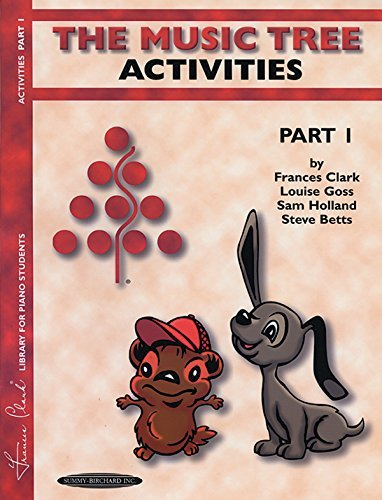 (By Frances Clark The Music Tree Activities (Part 1) (Music Tree (Summy)) (Part A) [Paperback])