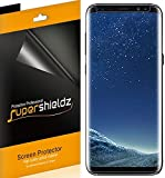 """[2-Pack] Supershieldz for Samsung """"Galaxy S8"""" Screen Protector, [Case Friendly] High Definition Clear Shield -Lifetime Replacements Warranty"""