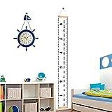 Homdipoo Kids Room Wall Decor Baby Height Growth