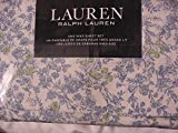 Ralph Lauren 4 Piece King Sheet Set Wild Blossoms Blue Green floral French Cottage Country Style Wildflowers