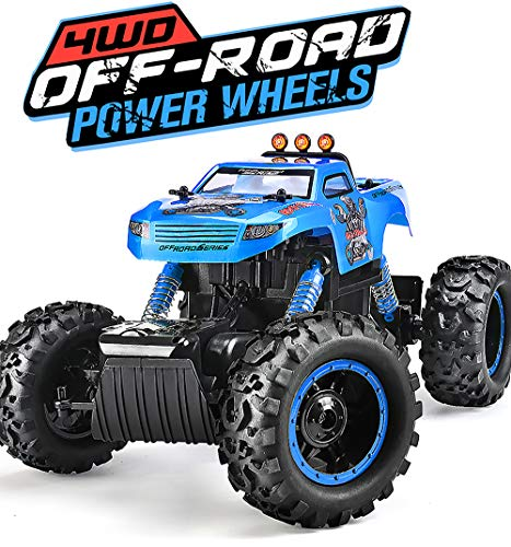 Remote Control Trucks Monster RC Car  1:12 Scale Off Road Vehicle 2.4GHz Radio Remote Control Car 4WD High Speed Racing All Terrain Climbing Car Gift For Boys