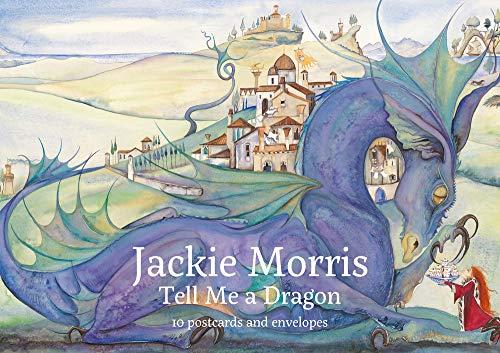 Dragon Postcard - Jackie Morris Tell Me A Dragon 10 Postcard Pack