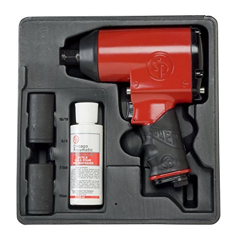 Chicago Pneumatic CP749K 1/2-Inch Super Duty Air Impact Wrench Kit