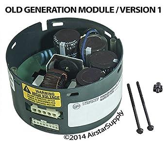 Oem upgraded trane american standard 1 hp ecm blower motor for Trane fan motor replacement cost