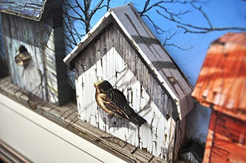 Country Birdhouses in 3D